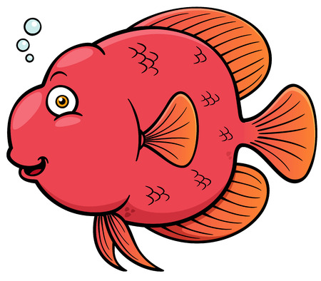 Vector illustration of Cartoon fish Stock Vector - 27322038