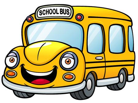 school transportation: Ilustraci�n del vector del autob�s escolar