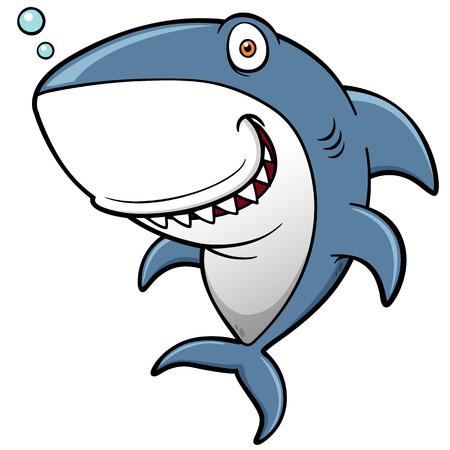 漫画サメのイラスト