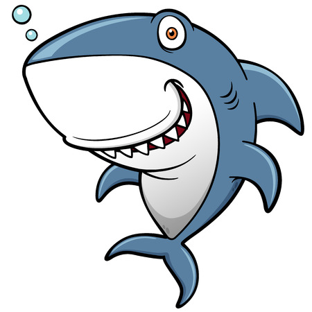 Ilustración de dibujos animados Shark Foto de archivo - 28465055