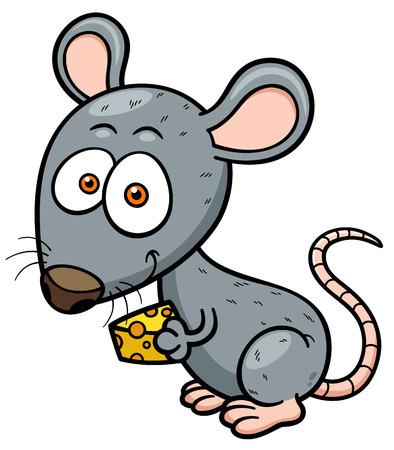 Ilustración vectorial de rata de la historieta Foto de archivo - 29720377