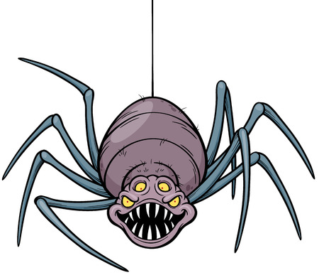 cobwebby: illustration of Spider Illustration