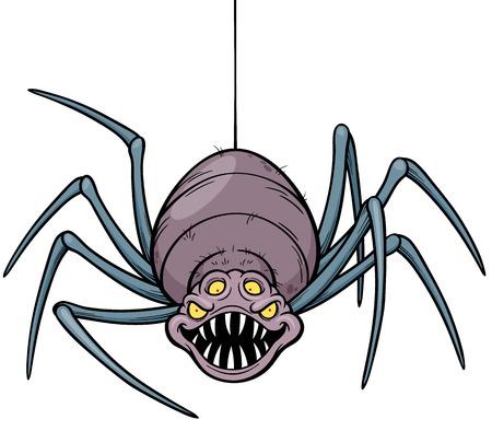 arachnophobia: illustration of Spider Illustration