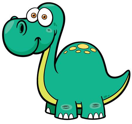 terrific: Vector illustration of Dinosaur Illustration