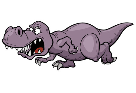 dinosaurs: Vector illustration of Cartoon dinosaur