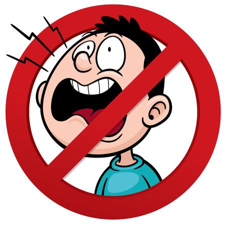 interdiction: Vector illustration de No smoking sign Illustration