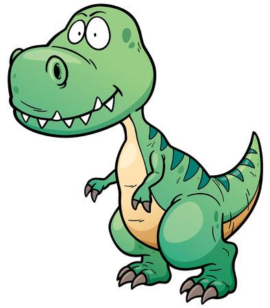 tyrannosaur: Vector illustration of Dinosaur cartoon