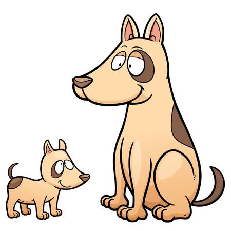 pooch: illustration of Cartoon Dog
