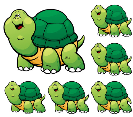 make a choice: Vector Illustration of make the choice matching - Turtle Illustration