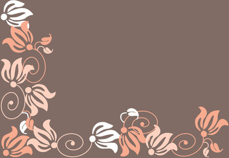 Abstraction of a flover beckground. Vector illustration