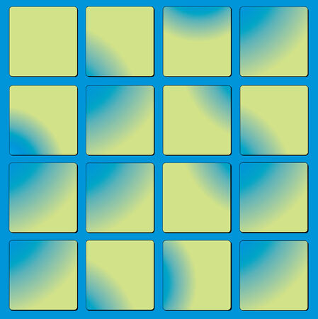 Colour small squares. A background a vector Vector