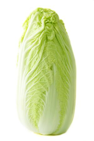 vibrat: Fresh lettuce on white background