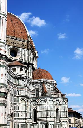 santa maria del fiore: Domes of Cathedral Santa Maria del Fiore, Florence, Italy