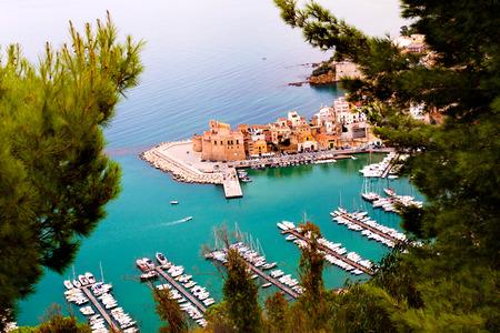 castellammare del golfo: The town of Castellammare del Golfo in the province of Trapani in Sicily, Italy