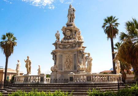 cappella: vista del famoso Palacio de los Normandos, Palacio Real, en Palermo