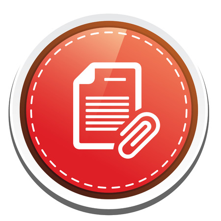 document with Attachment icon