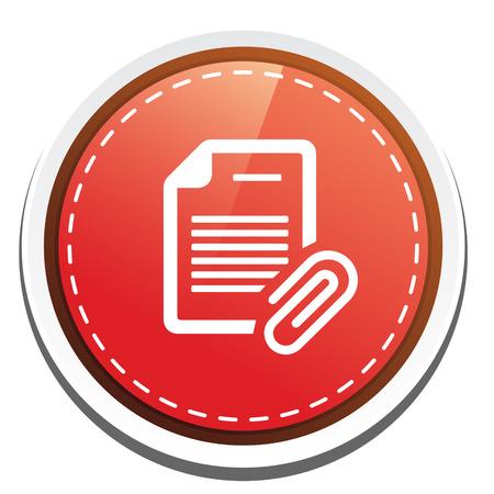 attachment: document with Attachment icon
