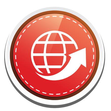 globe arrow: globe Arrow