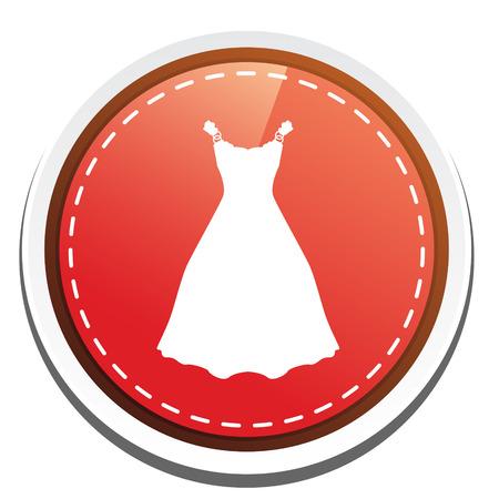 elegant dress: elegant dress icon