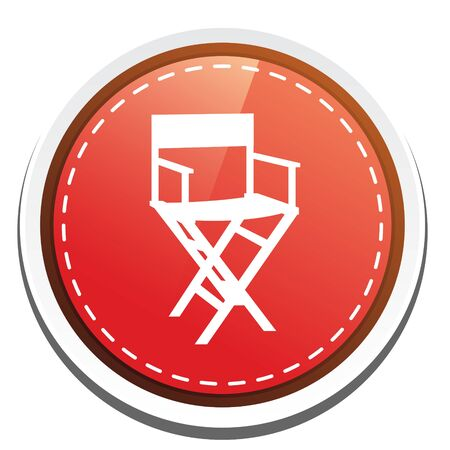 director chair: director chair button