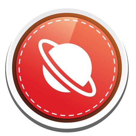 saturn rings: saturn icon