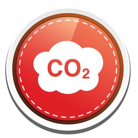 co2: Co2 cloud icon