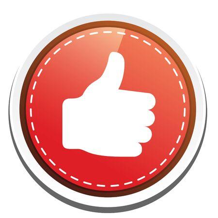 face book: como icono Vectores