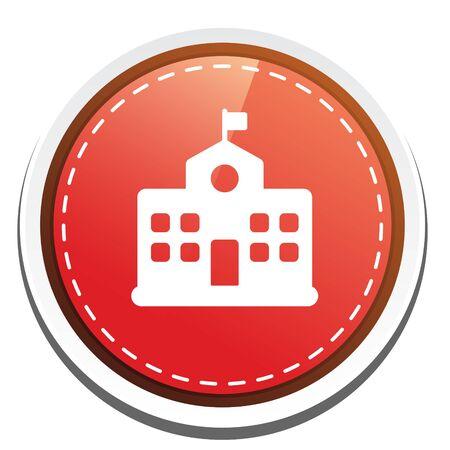 university building: university  building  button