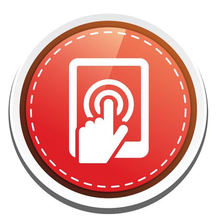 touch screen phone: touch screen phone icon