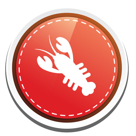 crawfish: crawfish icon Illustration