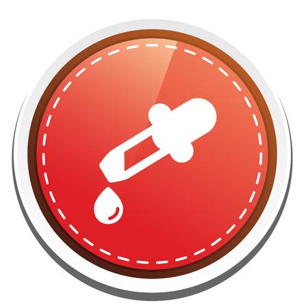 drug test: dropper icon