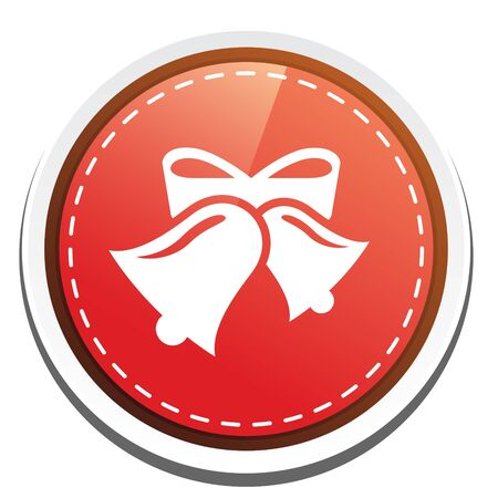christmas icon: christmas bell ICON Illustration