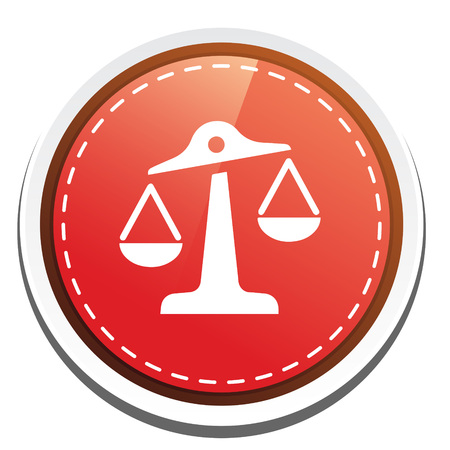 justice scale: justice scale  icon