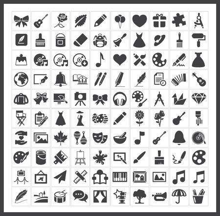 art palette: art icons