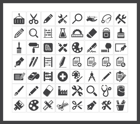 garden maintenance: Tools icons