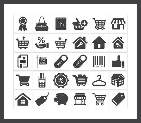 sale icons: Sale icons Illustration