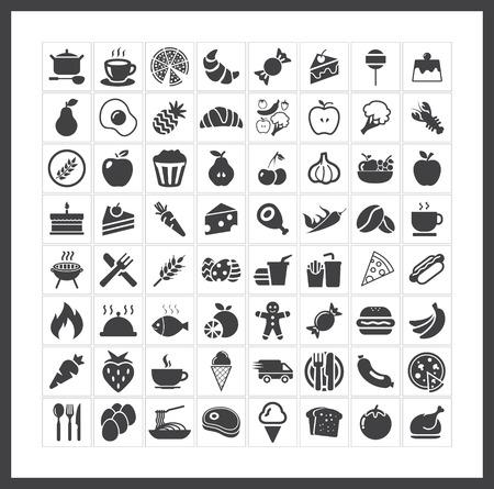 Alimentare icone