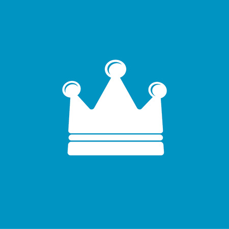 royal person: royalty crown icon Illustration