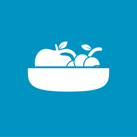 Fruit plate: fruit plate icon