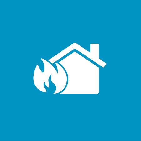 home icon: fire home icon