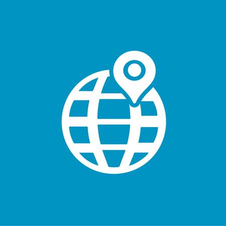 map pin: map pin icon