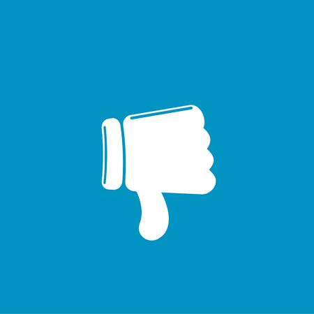 thumbs down: thumbs down icon Illustration