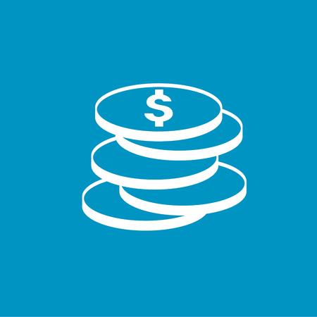 dollar coins: dollar coins
