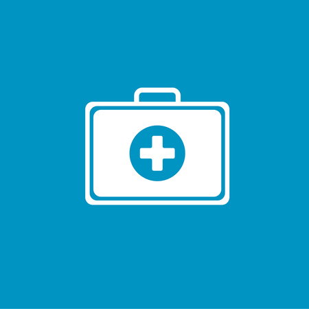 case: medical case sign icon