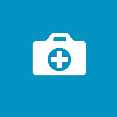 medical case: medical case button Illustration