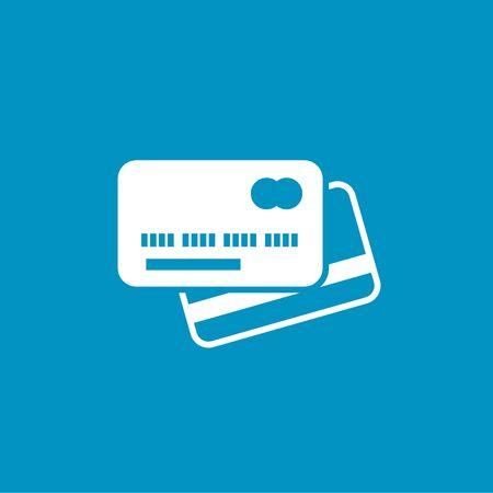 tarjeta visa: icono de la tarjeta visa Vectores