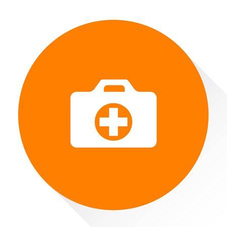 case: medical case button Illustration