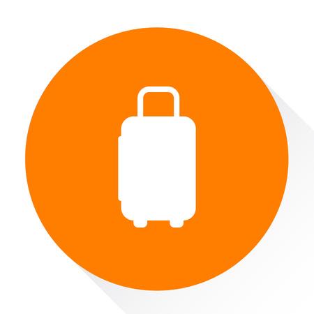 case: suit case. icon