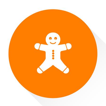 gingerbread icon Illustration