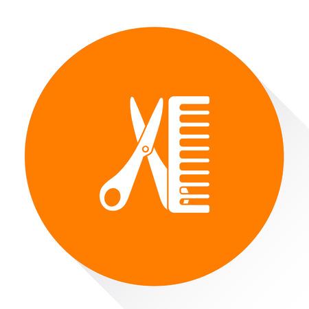 dresser: hair dresser icon Illustration